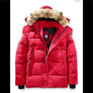 🎉Canada Goose Wyndham Coyote Fur Trim Down Jacket